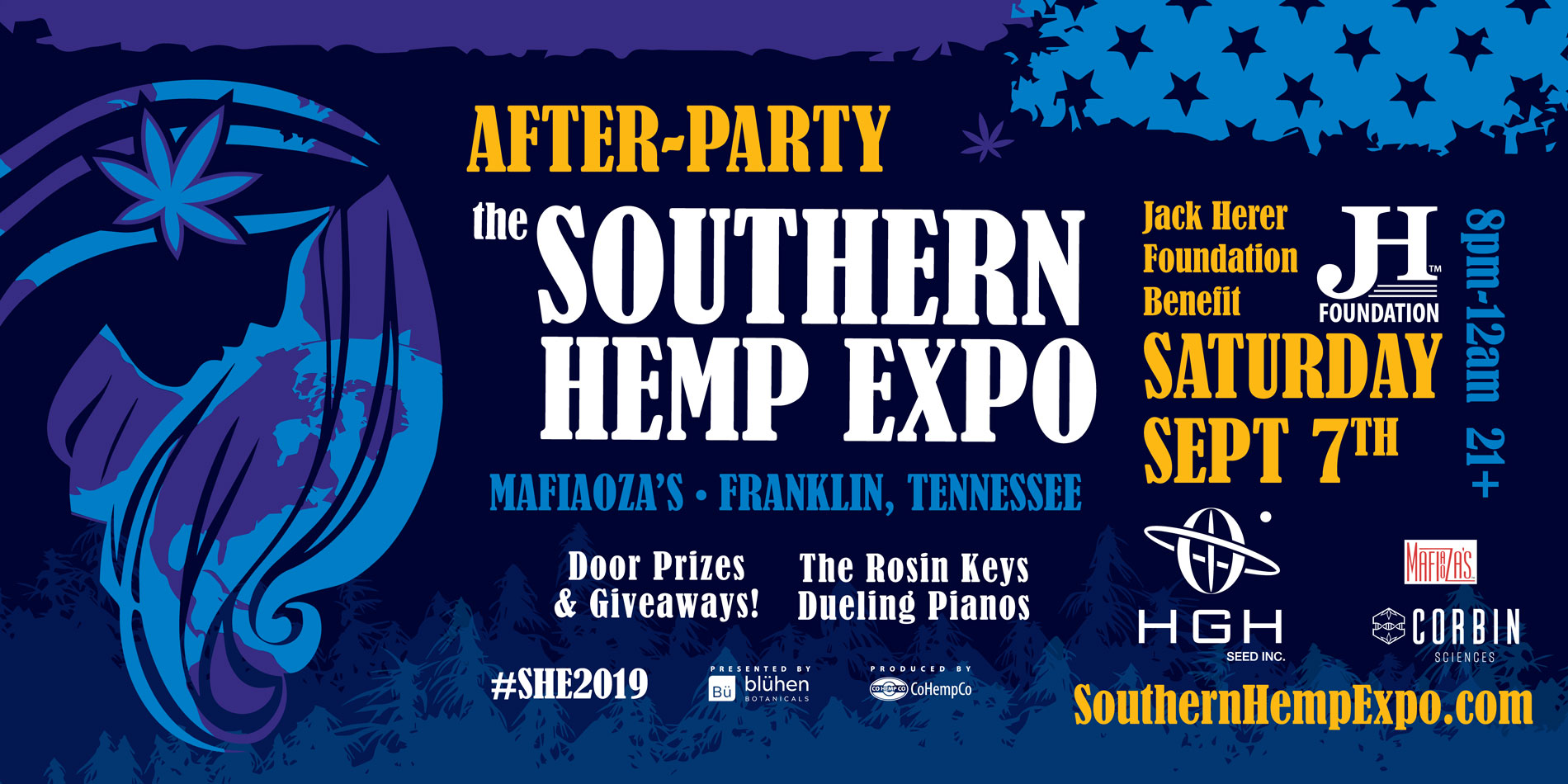 Southern Hemp Expo - Tennessee Sept  6-7, 2019 -Tennessee